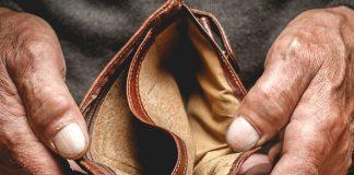prazan novčanik